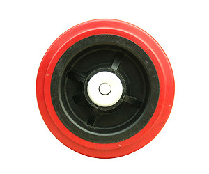 Polyurethane On Polyolefin Center Wheels